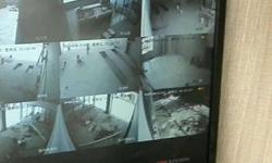 龙光城工程吊塔工地上安装网络监控
