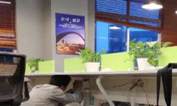 坂田国际中心深圳市意约网络科技有限公司办公室综合布线