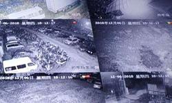 大浪扣车场立杆监控安装维护 网络光纤布线
