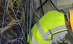 好运来商务大厦办公室网络布线 深圳网络布线监控安装门禁