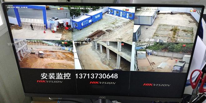 深圳龙岗区电脑维修公司 南湾摄像头安装施工.jpg